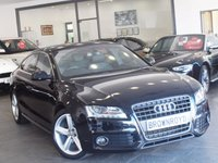 USED 2012 12 AUDI A5 2.0 SPORTBACK TDI S LINE 5d 168 BHP 1 OWNER+LEATHER+LOW MILES+FSH