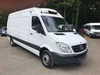 USED 2013 63 MERCEDES-BENZ SPRINTER 516 CDI LWB Freezer Van With Stand By Freezer, Movable Partition, Overnight Stand By Plug