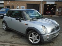 USED 2002 52 MINI HATCH COOPER 1.6 COOPER 3d 114 BHP GREAT VALUE+GOOD HISTORY, MOT APRIL 2018