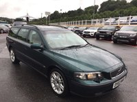 USED 2003 03 VOLVO V70 2.4 SE 5d 170 BHP Tan leather, sunroof & climate A/C, Dolby stereo, heated seats ++