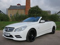 2012 MERCEDES-BENZ E CLASS 3.0 E350 CDI BLUEEFFICIENCY SPORT 2d AUTO 265 BHP £17350.00