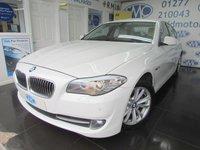 2012 BMW 5 SERIES 2.0 520D SE 4d 181 BHP £10795.00