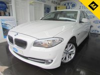 USED 2012 12 BMW 5 SERIES 2.0 520D SE 4d 181 BHP