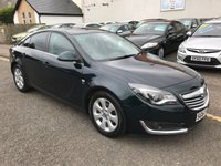 USED 2014 64 VAUXHALL INSIGNIA 2.0 SRI NAV CDTI ECOFLEX S/S 5d 118 BHP PRICE INCLUDES A 6 MONTH AA WARRANTY DEALER CARE EXTENDED GUARANTEE, 1 YEARS MOT AND A OIL & FILTERS SERVICE. 12 MONTHS FREE BREAKDOWN COVER.