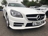 USED 2014 64 MERCEDES-BENZ SLK 1.8 SLK200 BLUEEFFICIENCY AMG SPORT 2d AUTO 184 BHP