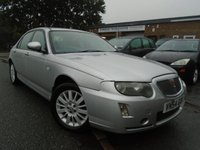 USED 2004 54 ROVER 75 2.0 CONTEMPORARY CDTI 4d 129 BHP GREAT VALUE+GOOD HISTORY