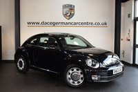 USED 2014 63 VOLKSWAGEN BEETLE 1.2 DESIGN TSI 3DR 103 BHP + FULL SERVICE HISTORY + 1 OWNER FROM NEW + SPORT SEATS + DAB RADIO + AUXILIARY PORT + HEATED MIRRORS + 17 INCH ALLOY WHEELS +
