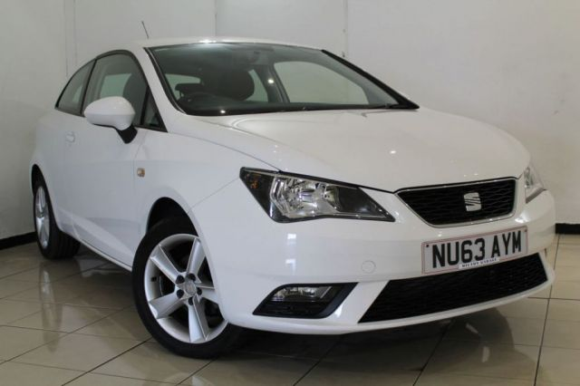 View our 2013 63 SEAT IBIZA 1.4 TOCA 3DR 85 BHP