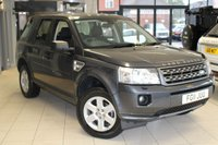 USED 2011 11 LAND ROVER FREELANDER 2.2 TD4 GS 5d 150 BHP FULL SERVICE HISTORY + CRUISE CONTROL + 17 INCH ALLOYS + AUTOMATIC AIR CONDITIONING + AUX PORT + PARKING SENSORS + AUTO LIGHTS