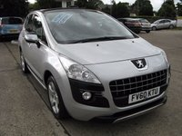 2010 PEUGEOT 3008 1.6 EXCLUSIVE HDI 5d AUTO 110 BHP £5495.00