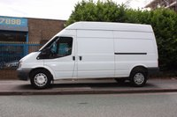USED 2013 62 FORD TRANSIT 2.2 350 LWB High Roof 125 FWD LWB | HIGH ROOF | 125BHP | PLY-LINED | VAN