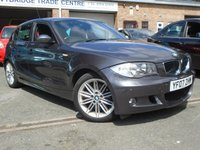 USED 2007 07 BMW 1 SERIES 2.0 118D M SPORT 5d 141 BHP GREAT SERVICE HISTORY+MOT MAY 2018