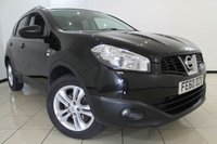 USED 2010 60 NISSAN QASHQAI 1.5 N-TEC DCI 5DR 105 BHP FULL SERVICE HISTORY+ PANORAMIC ROOF + REVERSE CAMERA + BLUETOOTH + CRUISE CONTROL + MULTI FUNCTION WHEEL + 18 INCH ALLOY WHEELS