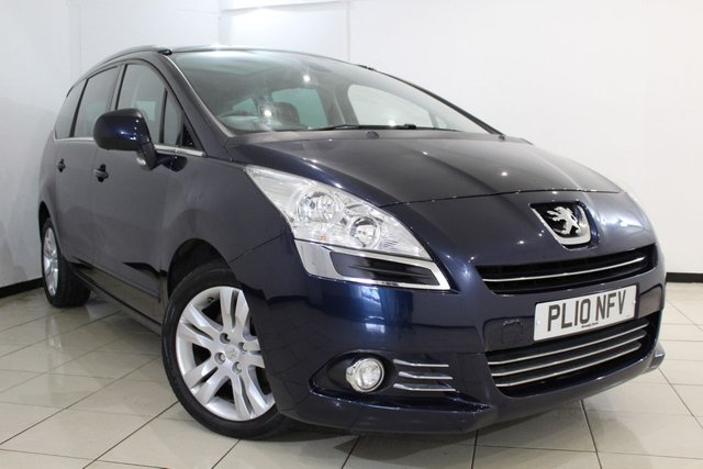 View our 2010 10 PEUGEOT 5008 2.0 HDI EXCLUSIVE 5DR 150 BHP