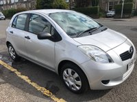 USED 2008 58 TOYOTA YARIS 1.0 T2 VVT-I 5d 69 BHP PRICE INCLUDES A 6 MONTH AA WARRANTY DEALER CARE EXTENDED GUARANTEE, 1 YEARS MOT AND A OIL & FILTERS SERVICE. 12 MONTHS FREE BREAKDOWN COVER