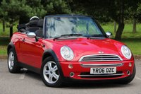 2006 MINI CONVERTIBLE 1.6 ONE 2d 89 BHP £3980.00
