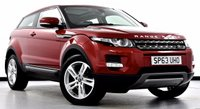 USED 2013 63 LAND ROVER RANGE ROVER EVOQUE 2.2 SD4 Pure Tech Coupe 4x4 3dr Auto Pan Roof, Sat Nav, DAB Radio