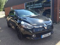 USED 2013 13 RENAULT CLIO 0.9 DYNAMIQUE S MEDIANAV ENERGY TCE S/S 5d 90 BHP IN BLACK ZERO ROAD TAX APPROVED CARS ARE PLEASED TO OFFER THIS  RENAULT CLIO 0.9 DYNAMIQUE S MEDIANAV ENERGY TCE S/S 5 DOOR 90 BHP IN BLACK WITH 36754 MILES THE CARS IN IMMACULATE CONDITION WITH A GREAT SPEC AND A GREAT SERVICE HISTORY SERVICED AT 13K,21K AND 31K AN IDEAL SMALL CAR WITH A SMALL ENGINE AND LOW INSURANCE AND ZERO ROAD TAX.