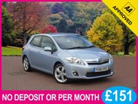 USED 2012 61 TOYOTA AURIS 1.8 T SPIRIT 5dr AUTO  PRICE CHECKED DAILY   WHY PAY MORE ??