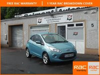 USED 2009 59 FORD KA 1.2 ZETEC 3d 69 BHP Alloys , Air Con ,Electric windows ,Cd player