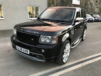 USED 2008 08 LAND ROVER RANGE ROVER SPORT 3.6 TDV8 SPORT HST 5d AUTO 269 BHP *F.S.H**UPGRADED ALLOYS**LEATHER**SAT NAV**AUTO*