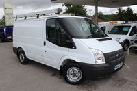 USED 2012 62 FORD TRANSIT 2.2 300 LR 1d 125 BHP Low Mileage, One Owner, Full Rhino Roof Rack.