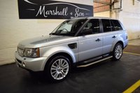 USED 2008 57 LAND ROVER RANGE ROVER SPORT 2.7 TDV6 SPORT HSE 5d AUTO 188 BHP