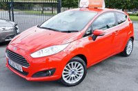 USED 2013 13 FORD FIESTA 1.0 TITANIUM 3d 79 BHP full dealer warranty included and zero road tax