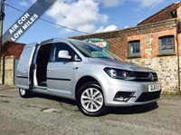 USED 2016 16 VOLKSWAGEN CADDY MAXI 2.0 C20 TDI HIGHLINE 1d 102 BHP Air Conditioning, One Owner, Top Sec, Two Side Loading Doors.