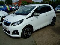 USED 2014 14 PEUGEOT 108 1.2 ALLURE 3d 82 BHP ZERO ROAD TAX