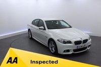 USED 2014 14 BMW 5 SERIES 2.0 518D M SPORT 4d 141 BHP SATELLITE NAVIGATION-LEATHER INTERIOR-CRUISE CONTROL-DAB RADIO