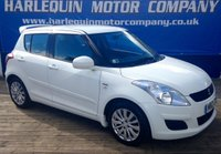 USED 2012 12 SUZUKI SWIFT 1.2 SZ3 DDIS 5d 75 BHP STUNNING IN BRIGHT WHITE SUZUKI SZ3  TURBO DIESEL 5 DOOR MANUAL ALLOYS ONLY 19000 MILES AIR CON FULL SERVICE HISTORY REAR SPOILER ONLY £20 TAX A YEAR