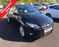 USED 2013 13 FORD FOCUS 1.6 ZETEC THIS VEHICLE IS AT SITE 1 - TO VIEW CALL US ON 01903 892224