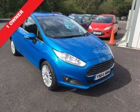USED 2014 64 FORD FIESTA 1.0 TITANIUM 5d 124 BHP ECOBOOST THIS VEHICLE IS AT SITE 2 - TO VIEW CALL US ON 01903 323333