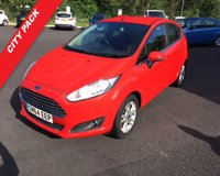 USED 2014 64 FORD FIESTA 1.0 ZETEC 5d AUTO 100 BHP ECOBOOST THIS VEHICLE IS AT SITE 2 - TO VIEW CALL US ON 01903 323333
