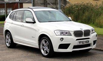 2013 BMW X3 3.0 XDRIVE30D M SPORT 5d AUTO 255 BHP £20990.00