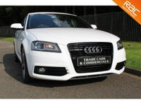 USED 2011 61 AUDI A3 2.0 TDI BLACK EDITION SPORTBACK 5d 168 BHP A STUNNING CAR WITH GOOD SPEC AND AT A GREAT PRICE!!!