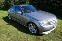 USED 2009 09 MERCEDES-BENZ C CLASS 2.1 C220 CDI SPORT 4d AUTO 168 BHP,1 PRIVATE OWNER,FULL HISTORY,SAT-NAV