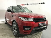 USED 2015 15 LAND ROVER RANGE ROVER SPORT 3.0 SDV6 HSE 5d AUTO 288 BHP *** BLACK PACK & SVR ALLOYS ***