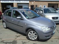 USED 2005 55 VAUXHALL CORSA 1.4 SXI PLUS 16V TWINPORT 5d 90 BHP GREAT VALUE AND CHEAP TO RUN