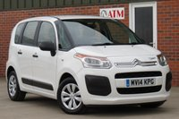 USED 2014 14 CITROEN C3 PICASSO 1.6 PICASSO VT HDI 5d 91 BHP 2 KEYS, CITROEN SERVICE HISTORY, LOW RATE FINANCE AVAILABLE