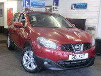 USED 2012 NISSAN QASHQAI 1.5 ACENTA DCI 5d 110 BHP Very LOW MILEAGE ONLY 34,000 Miles with full service history,alloys,blue tooth,rear park sensors-£7999-£500 Minimum part exchange allowance -balance to pay £7499