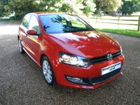 USED 2010 10 VOLKSWAGEN POLO 1.4 SEL DSG 5d AUTO 85 BHP Full Volkswagen Service History!
