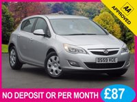 USED 2010 59 VAUXHALL ASTRA 1.6 EXCLUSIV 5dr 113 BHP AIR CON CRUISE CONTROL