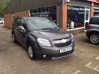 USED 2011 61 CHEVROLET ORLANDO 1.8 LT 5d 141 BHP PETROL 7 SEATS MANUAL IN MET GREY APPROVED CARS ARE PLEASED TO OFFER THIS  CHEVROLET ORLANDO 1.8 LT 5 DOOR 141 BHP PETROL WITH 7 SEATS MANUAL IN MET GREY WITH A GOOD SPEC INCLUDING 2 KEYS,ABS,AIR CON,ALARM,ALLOY WHEELS,CD,C/LOCKING,E/WINDOWS,POWER STEERING AND REAR PARKING SENSORS ALONG WITH A FULL SERVICE HISTORY SERVICED AT 12K,23K,36K AND 47K AND 7 SEATS MAKES THIS A GREAT FAMILY CAR FOR THE SUMMER