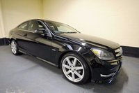 USED 2012 12 MERCEDES-BENZ C CLASS 2.1 C250 CDI BLUEEFFICIENCY AMG SPORT 2d AUTO 204 BHP PANORAMIC GLASS ROOF