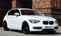 2012 BMW 1 SERIES 1.6 118I SPORT 5d 168 BHP  £SOLD