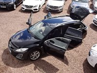 USED 2011 11 MAZDA 6 2.2 D SPORT 5d 180 BHP SAT NAV, BOSE SOUND SYSTEM, PART LEATHER, SIX SPEED, BLUETOOTH