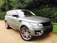 USED 2016 16 LAND ROVER RANGE ROVER SPORT 3.0 SDV6 HSE DYNAMIC 5d AUTO 306 BHP Panoramic Roof, Head Up Display, ACC, Remote Park Heat, Blind Spot M, Reversing Camera
