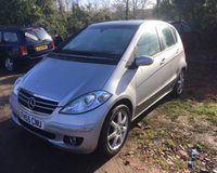 USED 2006 55 MERCEDES A-CLASS A200 AVANTGARDE SE